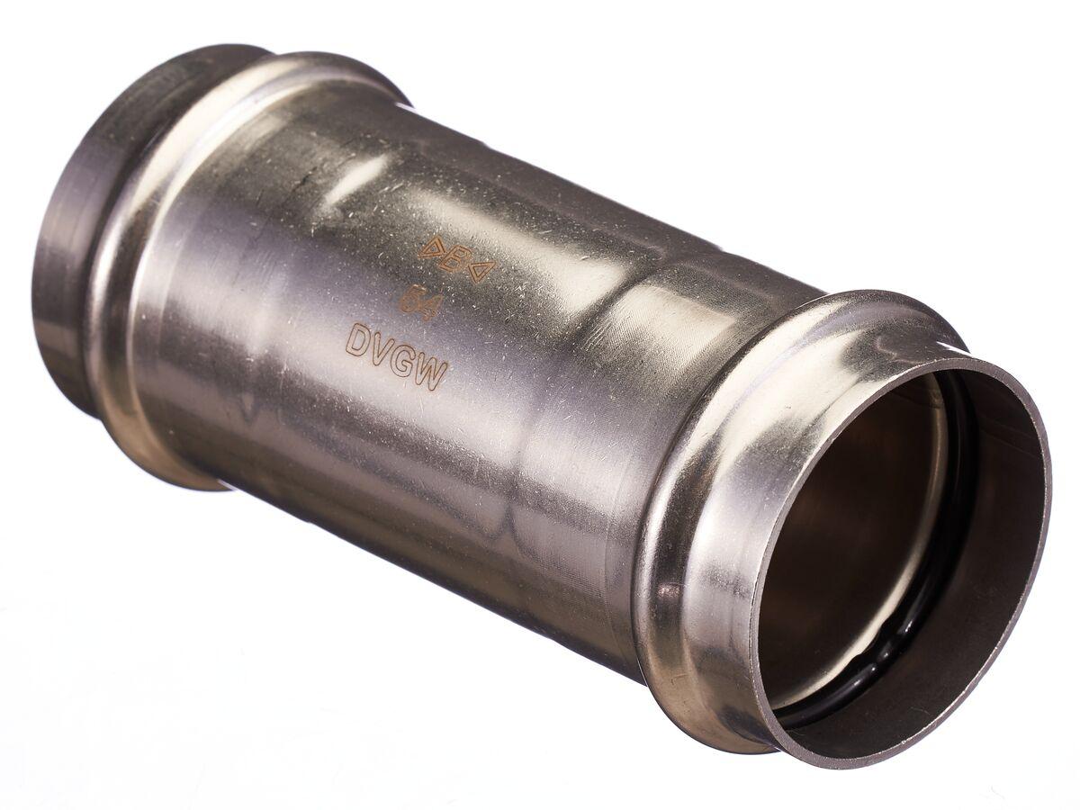 >B< Press Stainless Steel Slip Coupling 54mm