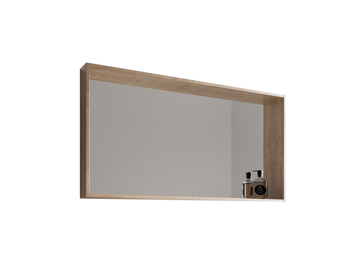 Venice Box Frame Mirror Arlington Oak