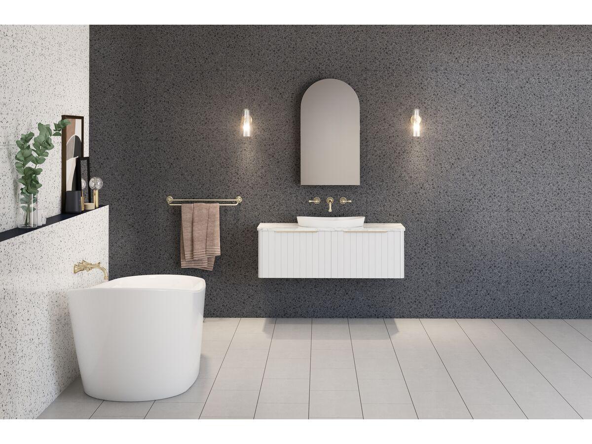 Kado Neue Arch Mirrored Shaving Cabinet 500x900mm