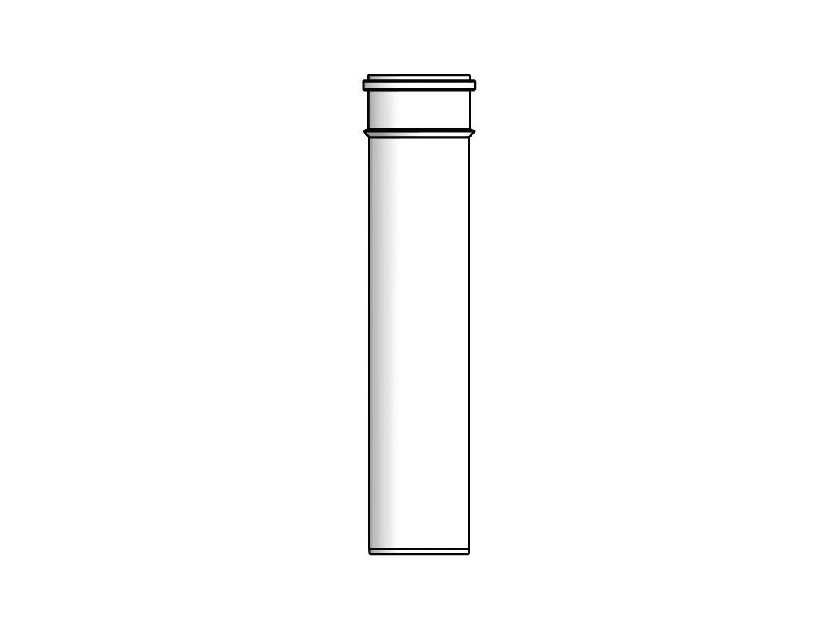 Thermann Commercial 32 Flue Extension 0.25m 100