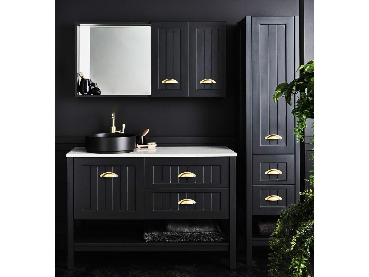 Kado Era Full Height Linen Cabinet, Shaving Cabinet and Vanity