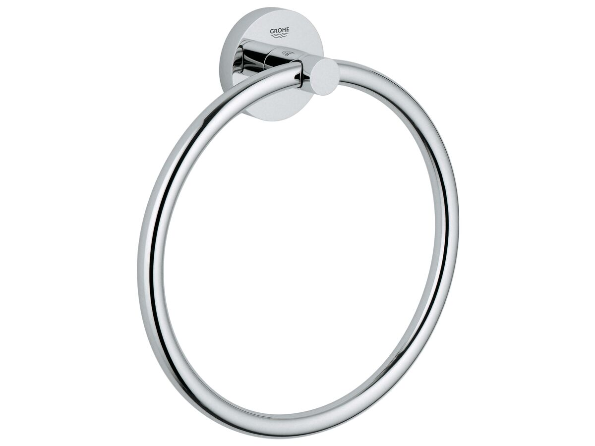 Grohe Essentials Accessories Towel Ring Chrome
