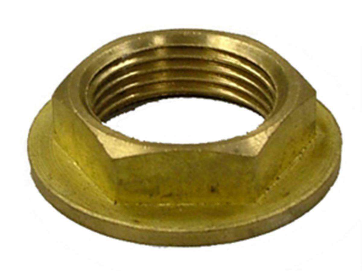 Flanged Back Nut Brass