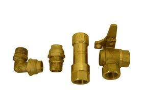 Dry Meter Connection Kit(Copper) 20mm