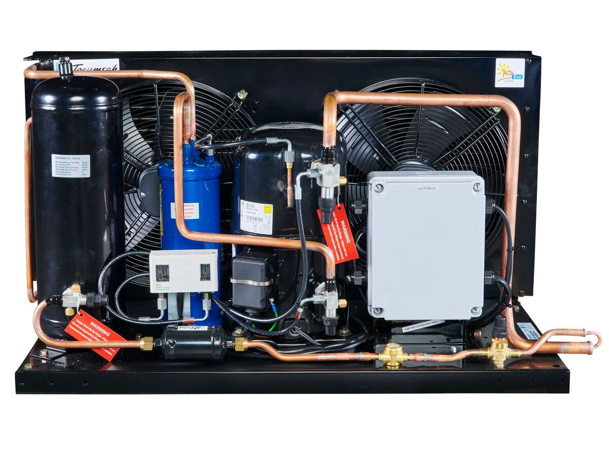 Tecumseh EVO Condensing Unit 4.5hp R404 MHBP EPCH4553Z-3 Phase