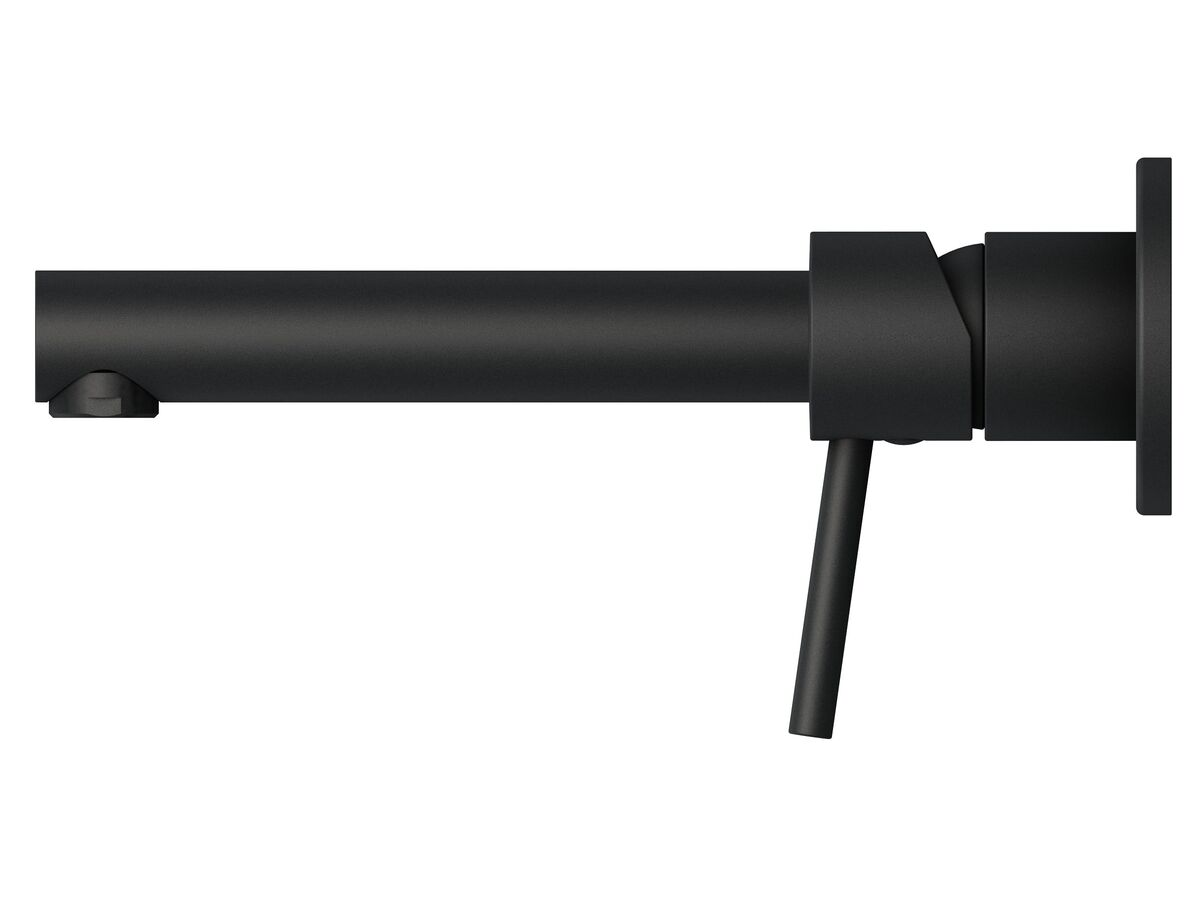 Mizu Drift MK2 Wall Basin Mixer Tap Set Matte Black (4 Star)