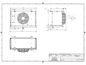 Cabero Evaporator Medium Temperature CH4C1-30-1