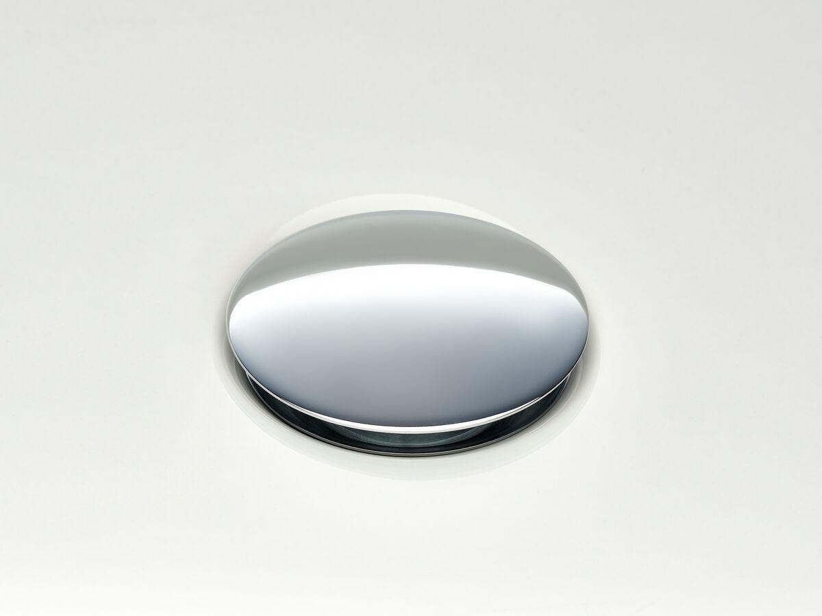 Mizu Drift Universal DN40 Dome Pop Up Plug & Waste Chrome