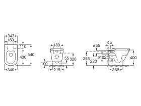 The Gap Rimless Wall Hung Pan (4 Star)
