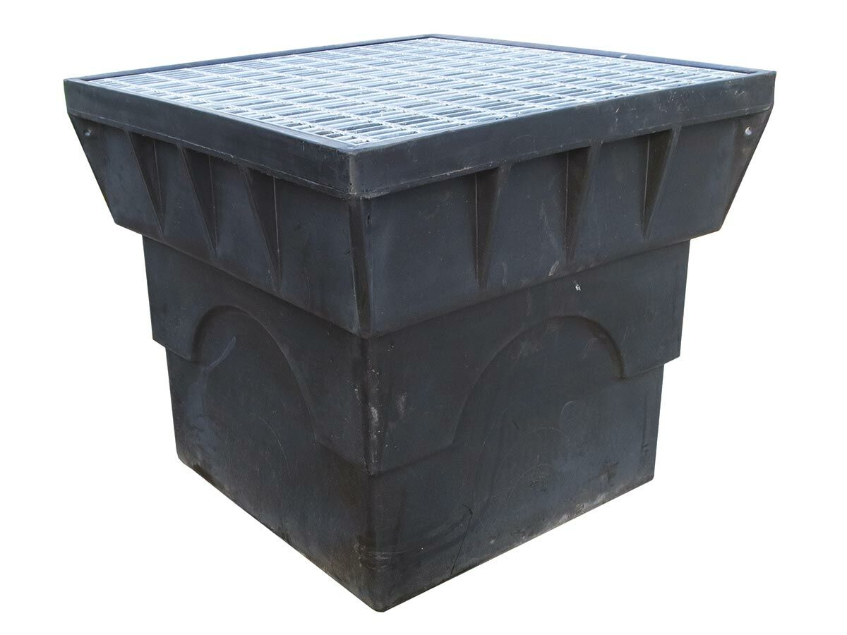 """Everhard Polymer Stormwater Pit with Grate """"B"""""""" 900mm x 900mm"""""""