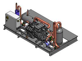 Tecumseh Semihermetic Receiver Unit SHR4632ZHR