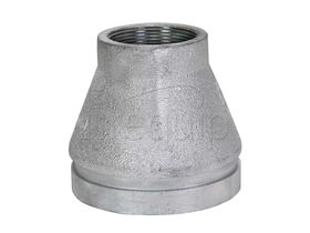 Roll Groove Galvanized Concentric Reducer BSP