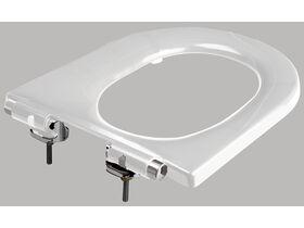 Wolfen Single Flap Toilet Seat White