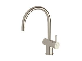 Scala Sink Mixer Curved Large RH LUX PVD Brushed Oyster Nickel (4 Star)