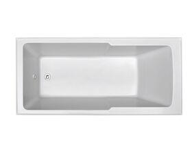 Posh Domaine Shower Bath 1500 x 750 White