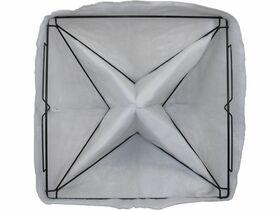 SpacePeak Bag Filter 4 Pyramid 610mm x 610mm x 380mm SPCPEK664F5