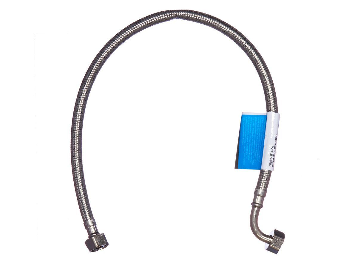 """Dura Flex Hose Water 1/2"""" Elbow 600mm"""""""