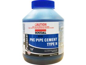 Soudal Pureseal Solvent Cement Type N Blue 500ml