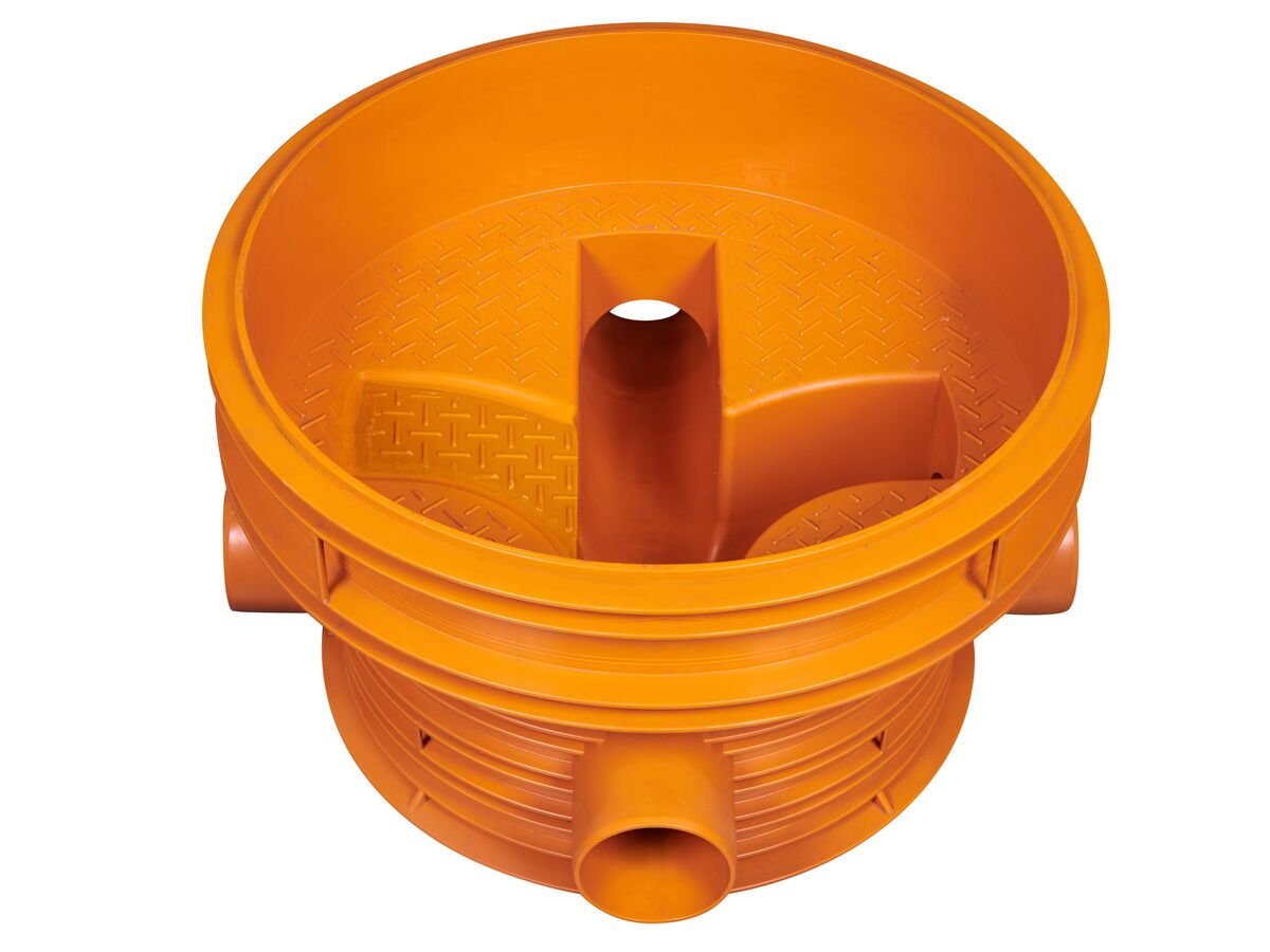 Rehau Awashaft PP Chamber Base 800/160mm (RM 270 Degree)