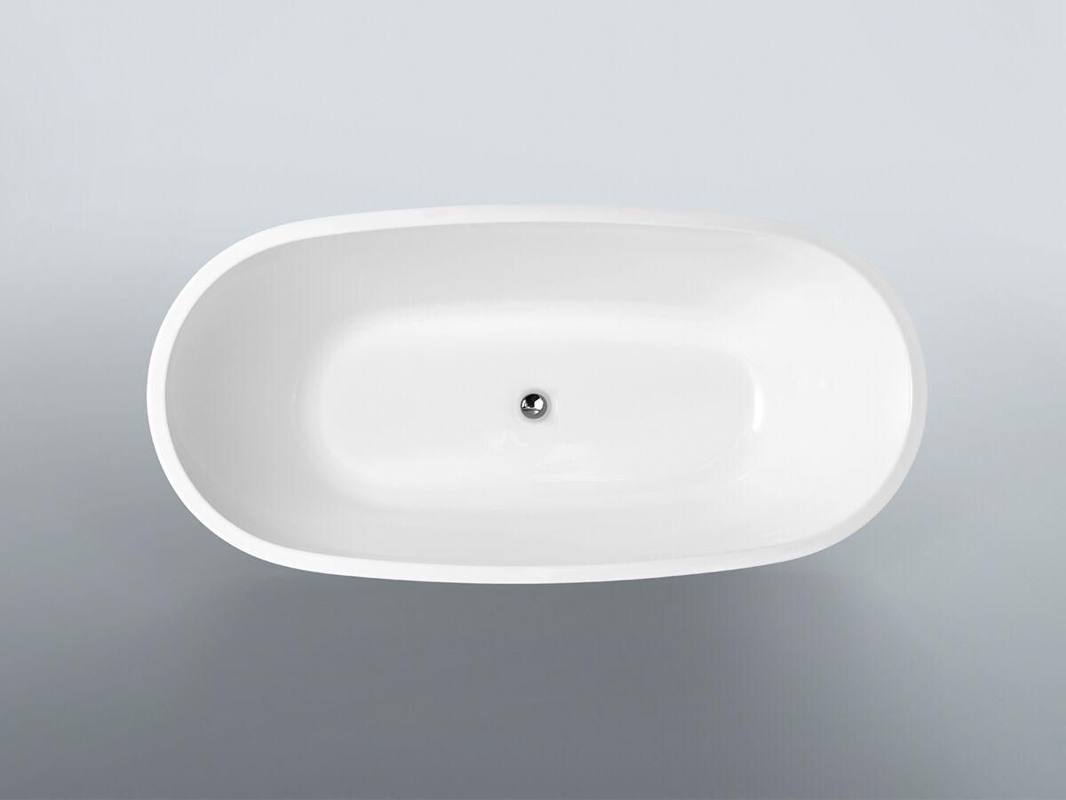 Kado Lux Petite Freestanding Bath 1500mm