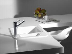 Roca Logica-N Cast Sink Mixer Chrome (4 Star)