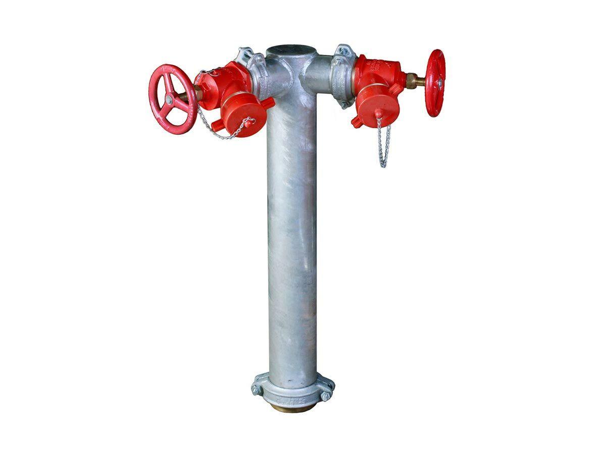 Hydrant Riser: Dual Complete CFA (VIC)