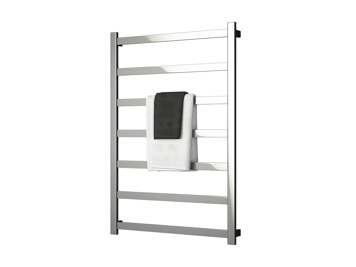 Milli Edge MK2 Non Heated / Heated Towel Rail 900mm x 1320mm Polished Stainless Steel