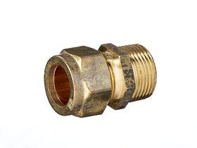 Copper Olive Union 20Mi x 20C