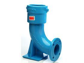 90 Degree Ductile Iron Hydrant Bend SC x FL PN16