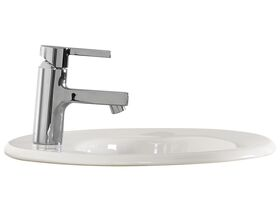 American Standard Heron Recessed Vanity Basin with Fixing Kit 1 Taphole White
