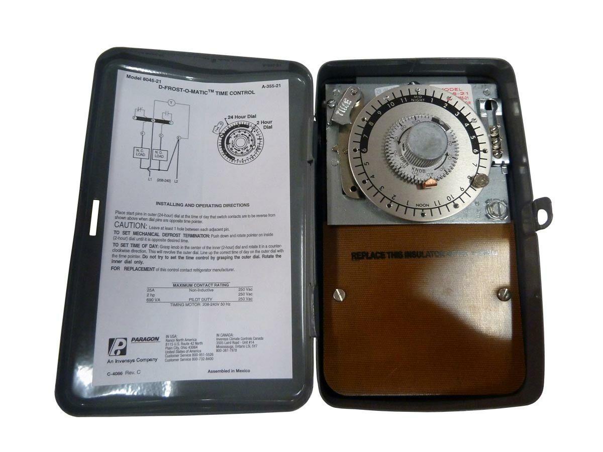 8045-21 Paragon Defrost Timer