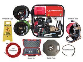 Rothenberger Roblast 5000 Jetter Complete Kit
