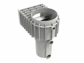 innoSkim Standard Throat (Concrete) White