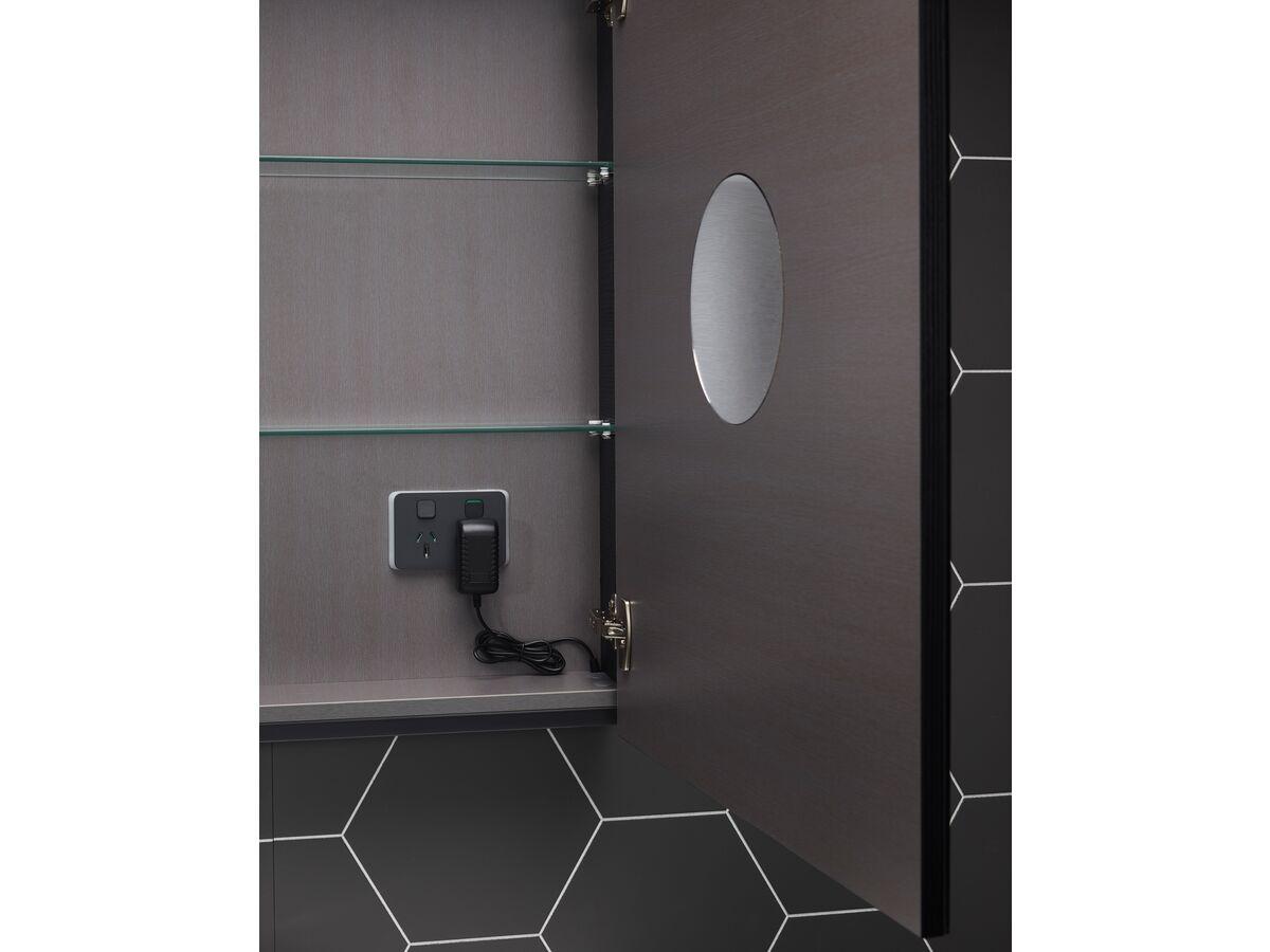 Posh Domaine Plus Shaving Cabinet 2 Door 1200x800mm