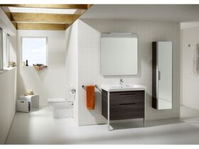 Roca Dama-N Close Coupled Back To Wall Suite (No Lid) Bottom Inlet White (4 Star)