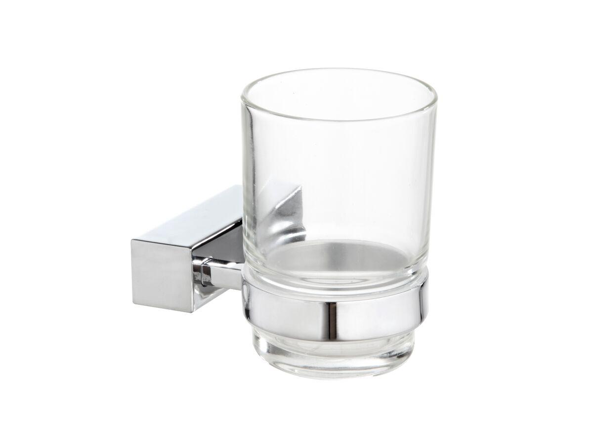 Mizu Bloc MK2 Glass Tumbler Chrome