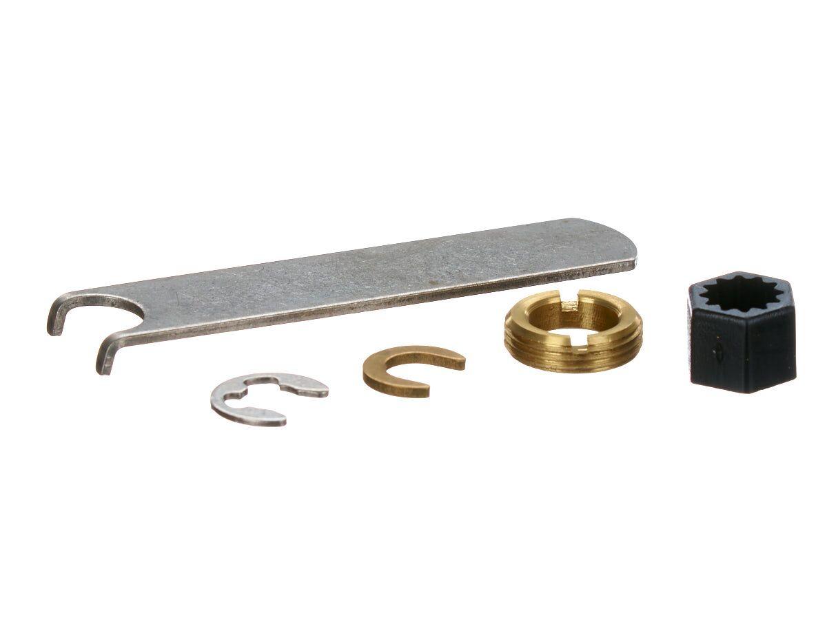 Ezy Clean Anti Vadal Fixing Kit Chrome