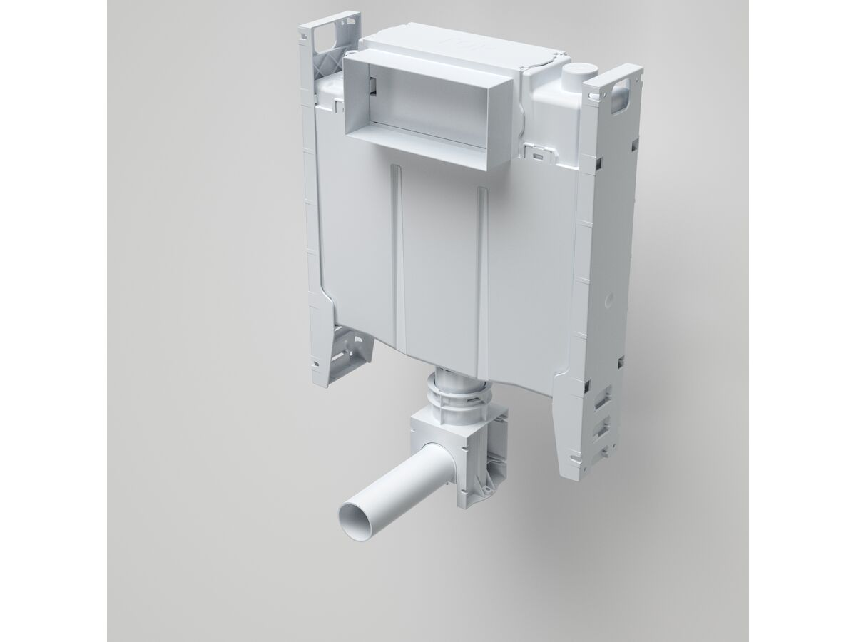 Caroma Forma Invisi Suite Over Height Back To Wall Pan with Adjustable Flush Pipe and Soft Close Quick Release Seat White (4 Star)