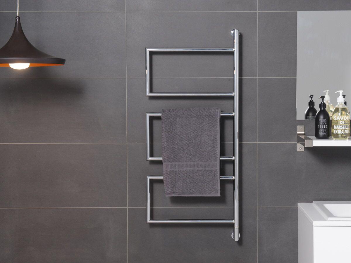Kado Aspect Heated Towel Rail Swivel 400mm x 945mm Chrome