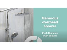 Posh Domaine Twin Showers