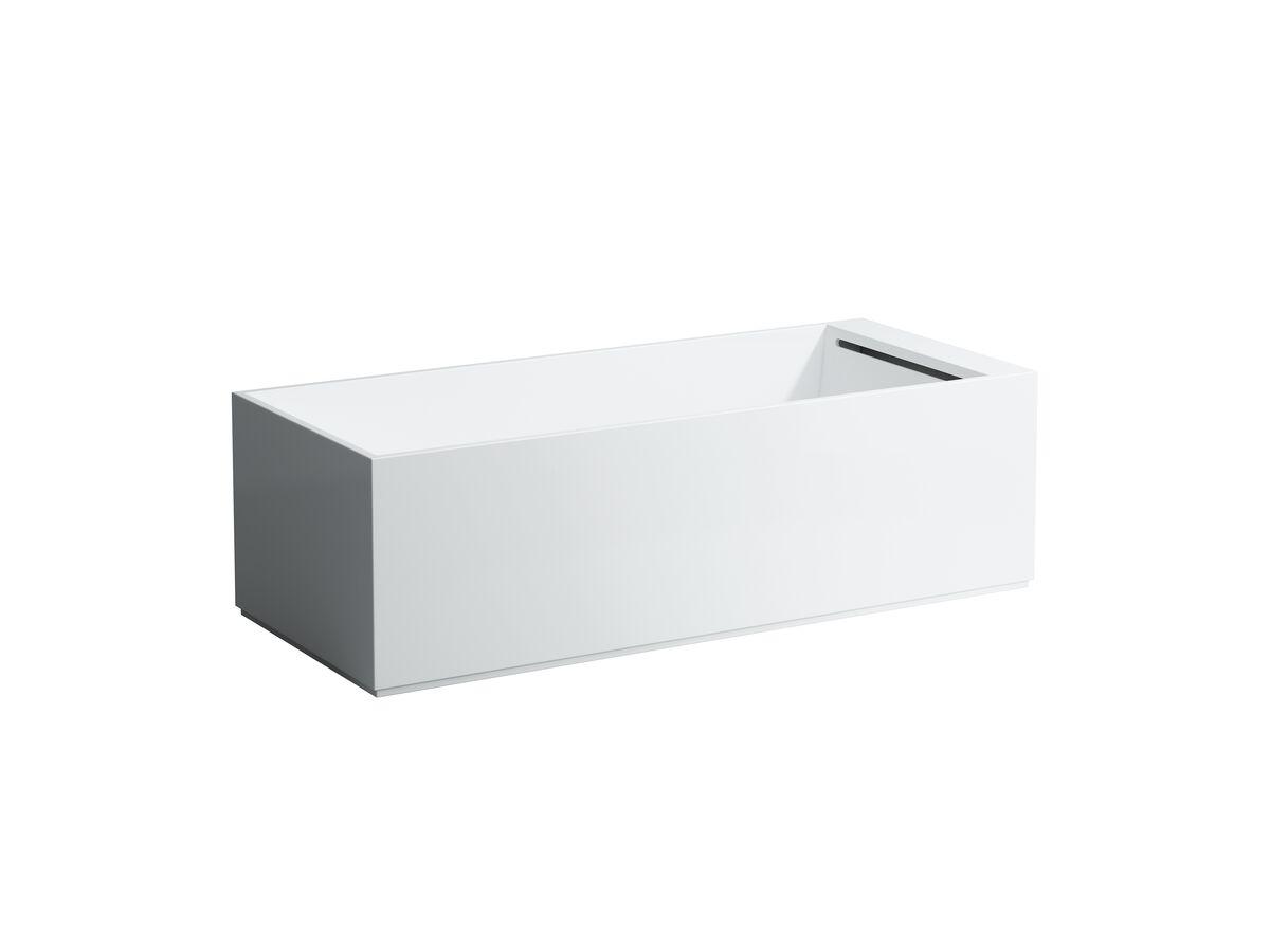 Kartell Freestanding Bath Solid Surface 1760 x 760mm White