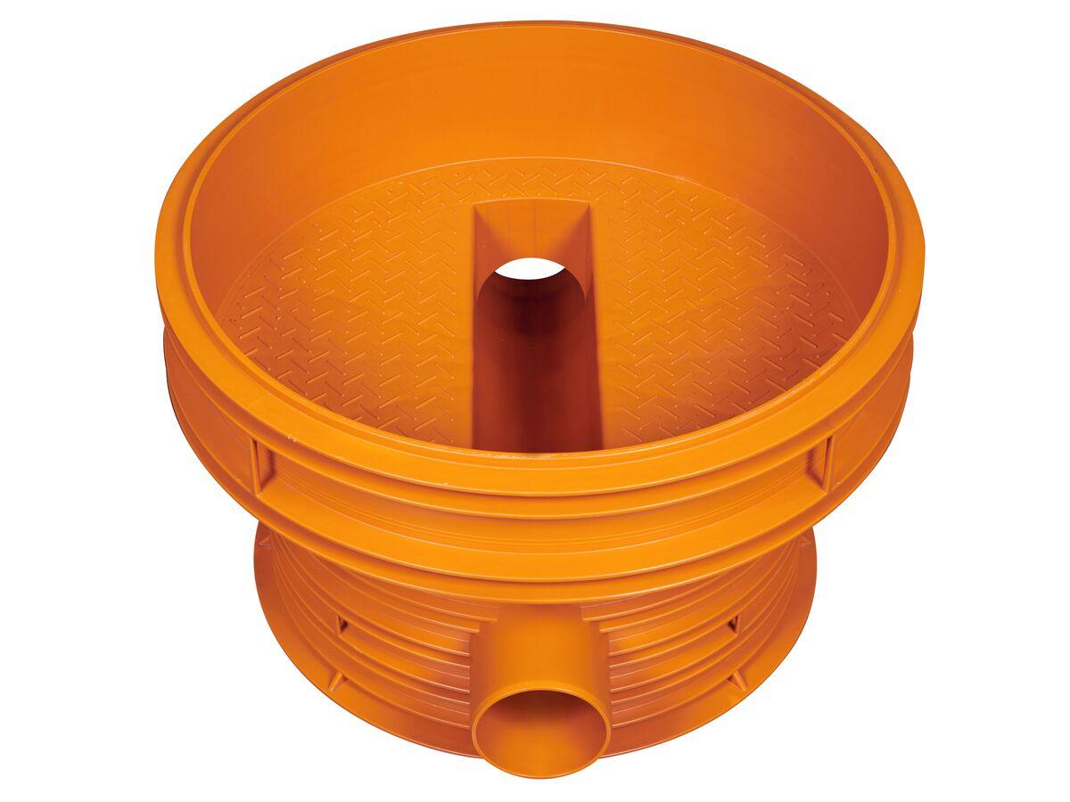 Rehau Awashaft PP Chamber Base 800/160mm (180 Degree GD)
