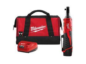 "Milwaukee Impact Ratchet Kit 12V 3/8"""""
