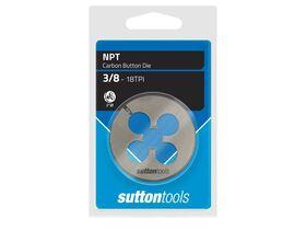 """Sutton Die Button 2DIA 3/8"""" NPT"""""""