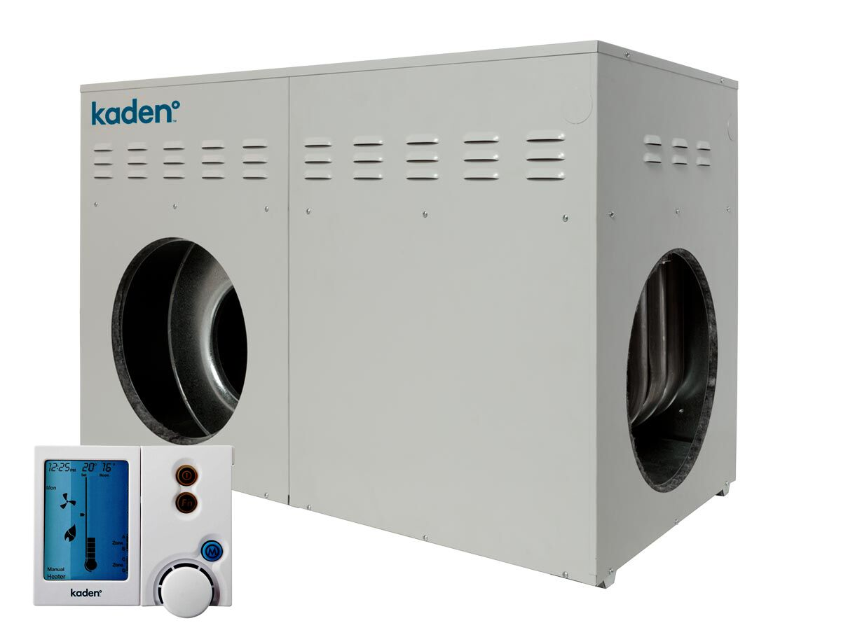 Kaden Ducted Heater Universal Natural Gas - Includes Networker Thermostat Controller