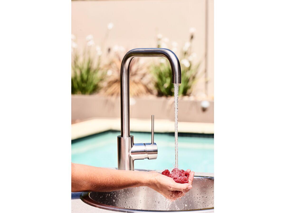 Milli Inox Sink Mixer Tap Stainless Steel (5 Star)