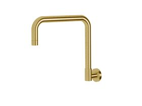 Scala Wall Spa Outlet Square LUX PVD Brushed Pure Gold