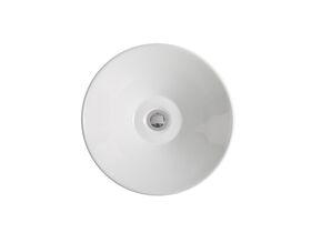 Posh Solus Vessel Basin 420mm White