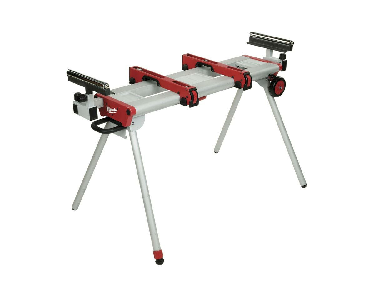Milwaukee Saw Stand Extends 1.2m - 3m