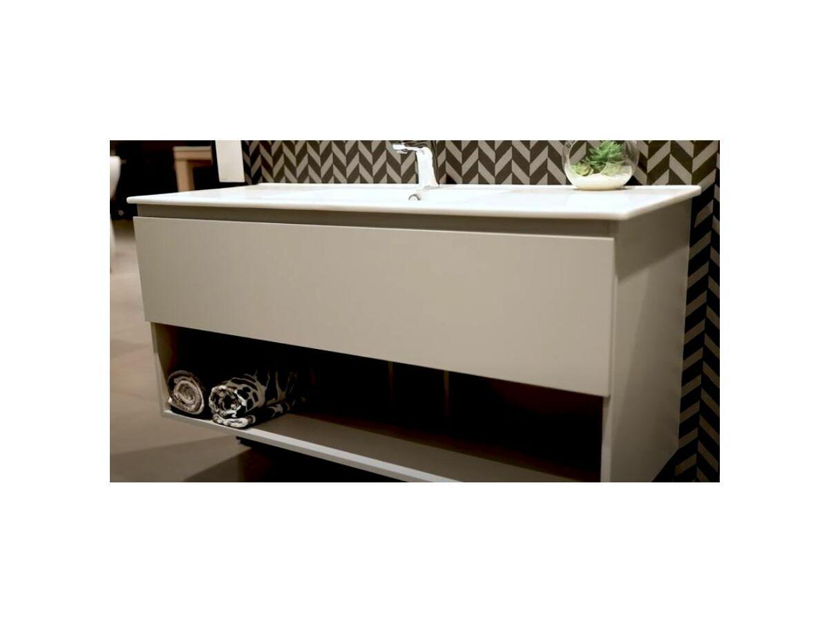 Posh Domaine All Drawer Shelf Vanity